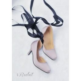 1/3Boy Highheel /IP Women -Ballet Mary Jane shoes[BLS007] Brown Grey