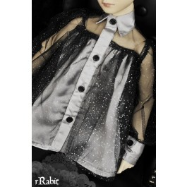 1/3 free size: Tiara Dress - Halloween theme's BSC024 1704 (Light Sliver)