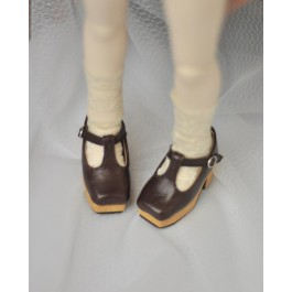 1/3 Girls - [Coven One] T-sharp shoes - Oil Brown