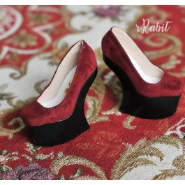 1/4 HighHeels/MDD/AP/Minifee/Unoa [Coven Four] Curve Platform High Heels - Red Velvet (Basic Ver.)