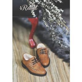 1/4 MSD/MDD Boy Classic Oxford Shoes - RSH005 Caramel