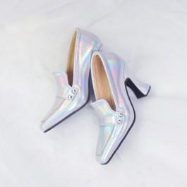 1/4 MSD MDD Angel Philia Fairyland Highheel Loafers - RSH006 Space Silver