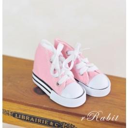 [1/4 & 1/3 Girl] Cute Sneakers - US001 Pink