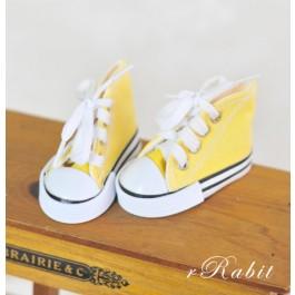 [1/4 & 1/3 Girl] Cute Sneakers - US001 Yellow