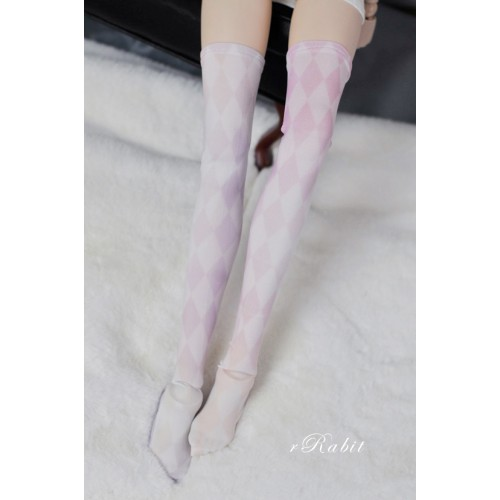 1/3 Girl/DD Socks - Colorful Cloud - BS210101