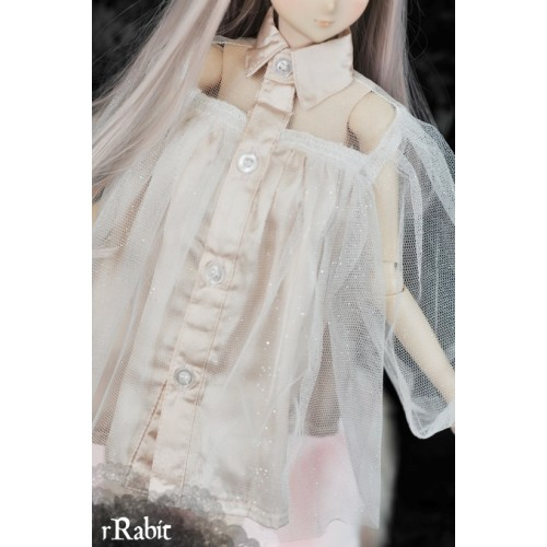 1/4 free size: Tiara Dress - Halloween theme's BSC024 1703 (Sliver Peach)
