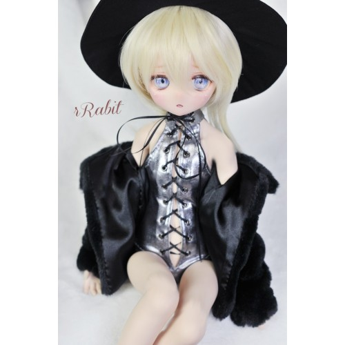 1/3 Girl/16Girl/DD Leather swimsuit DF004 010 (Silver Metal)