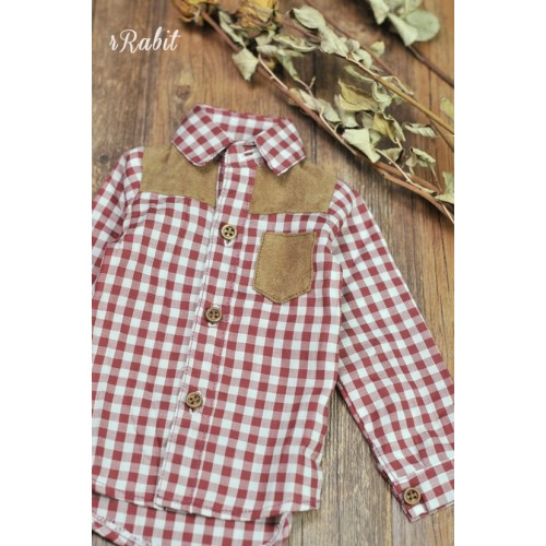 1/3/SD17[Patchwork shirt] MG001 1905