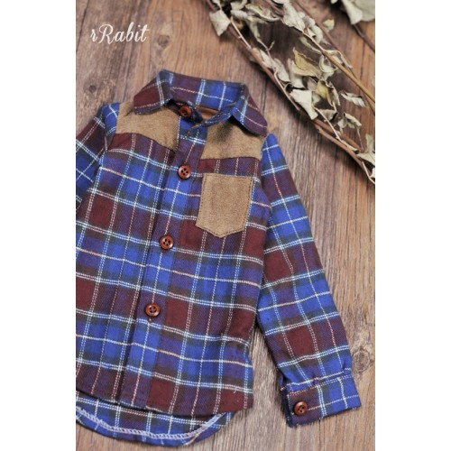 1/3/SD17[Patchwork shirt] MG001 1919