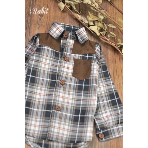 70cm up+/SSDF [Patchwork shirt] MG001 1924
