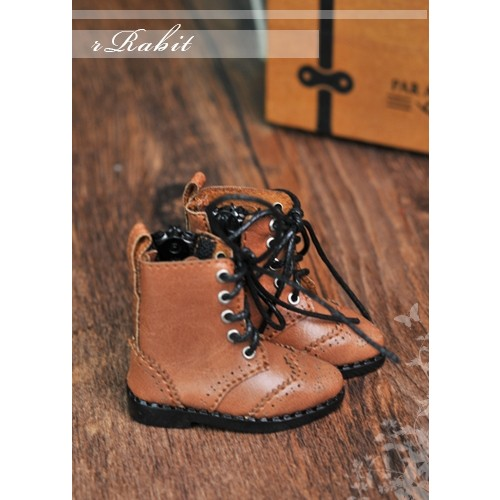 1/6 YOSD soom iMda 3.0 Antique Boots - RHL003 Yellow Brown