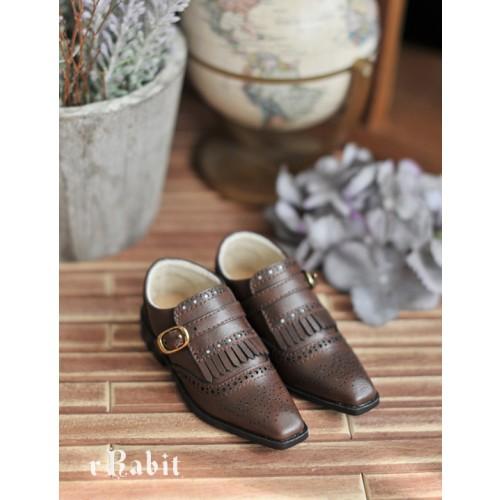 SD13/SD17 - Bourbon Oxford Shoes- RSH004 Cocoa