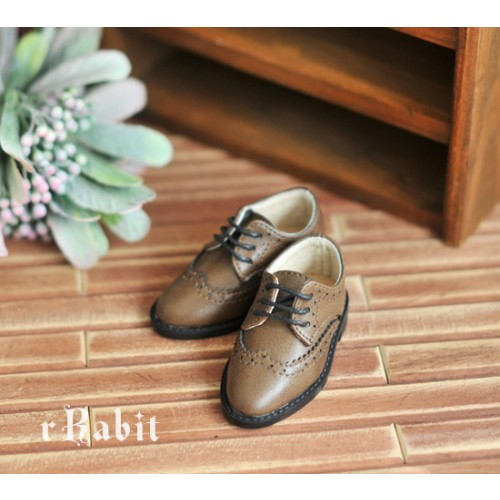 1/4 MSD/MDD Boy Classic Oxford Shoes - RSH005 Wood