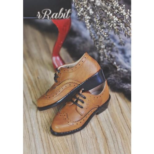 1/3Boy SD13/SD17 Classic Derby Shoes - RSH005 Caramel