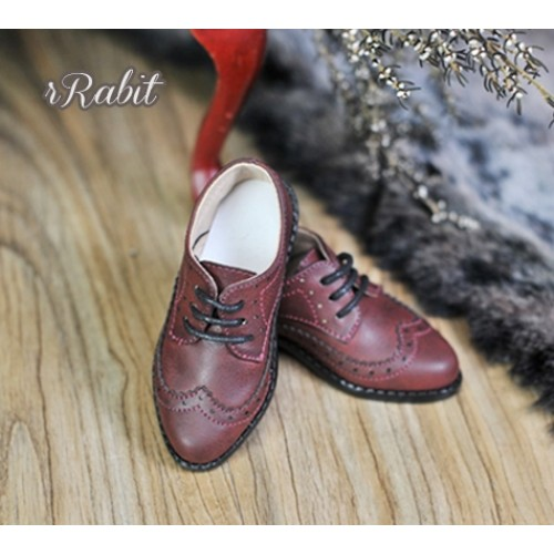 1/3Boy SD13/SD17 Classic Derby Shoes - RSH005 Red