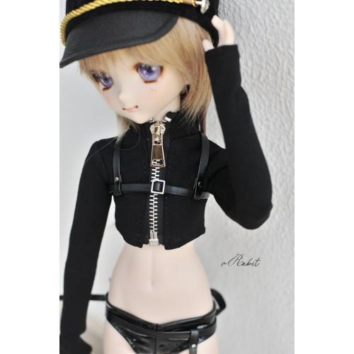 [1/4/MDD] Beloved Killer - leather set -ZD006 (Black)