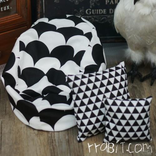 All size ★ Beanbag Sofa - 70s B +Cushion