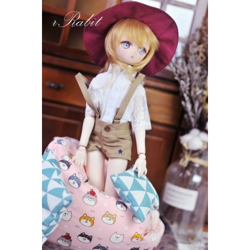All size ★ Beanbag Sofa - Shiba Inu Ball (Pink)