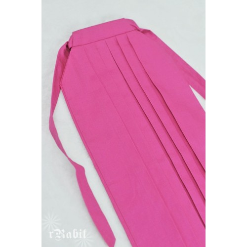 1/4 Hakama 行燈袴 (Japanese Bottom Dress) TS001 1705 (Fuchsia)