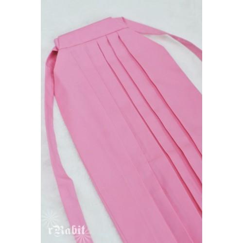 1/4 Hakama 行燈袴 (Japanese Bottom Dress) TS001 1706 (Pink)
