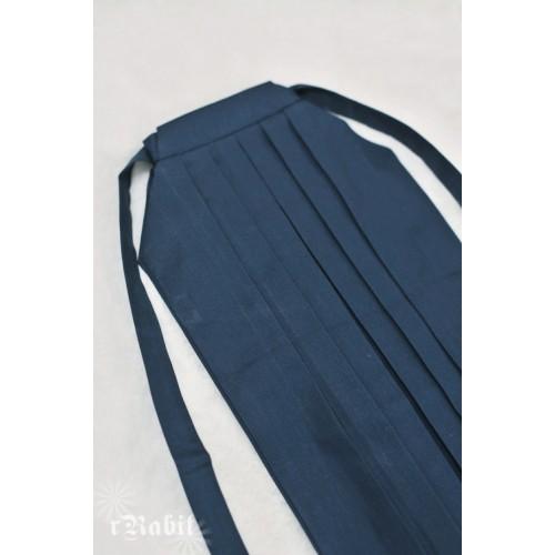 1/4 Hakama 行燈袴 (Japanese Bottom Dress) TS001 1714 (Deep Blue)