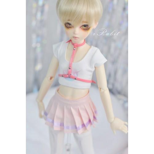 [1/4 MSD MDD] Cheer Up! Dress Set - UC001 2105 (Pink NASA)