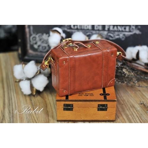 1/3 & 1/4 Suitcase -  Caramel
