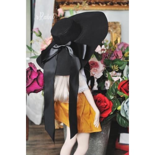 1/3[Witchcraft Academic]Floppy hat - AS007 001(Black)