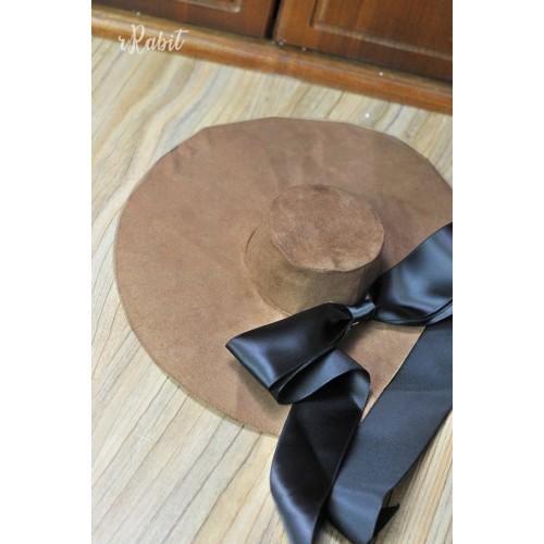 1/4[Witchcraft Academic]Floppy hat - AS007 005(Brown Velvet)
