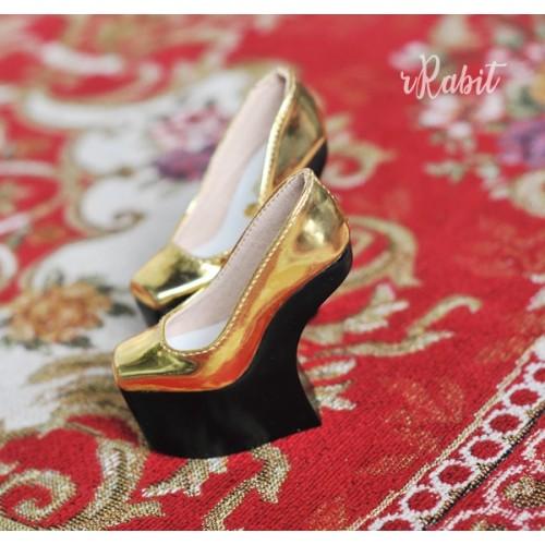 1/3 Men's highheels/IP's Girl [Coven Four] Curve Platform High Heels - Space Gold (Basic Ver.)