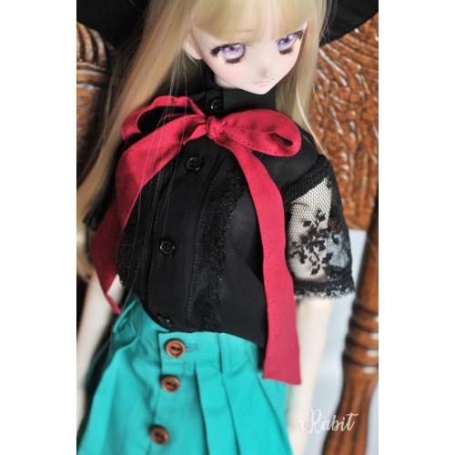 1/4 [Witchcraft Academic] - Jojina Shirt - CVZ001 002 (Black w/ Red ribbon)