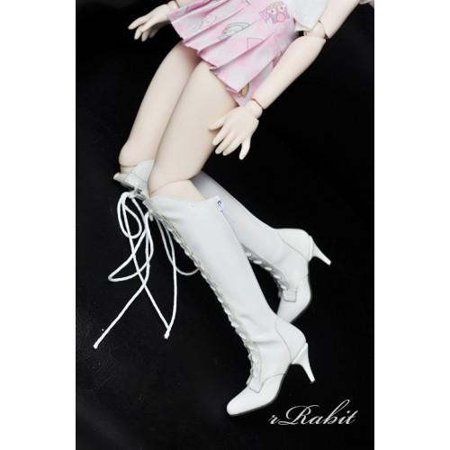 1/4 MSD MDD Angel Philia Fairyland Boot - Dominatrix - Long boots - DA001 White
