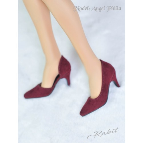 Queen's heels ✚16G HighHeels/1/3 Girls/DD [DA002] - Berry Velvet
