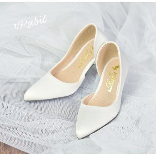 Queen's heels ✚ 1/3 Boy/IP House Girls/POPO68 [DA002] - Silk White