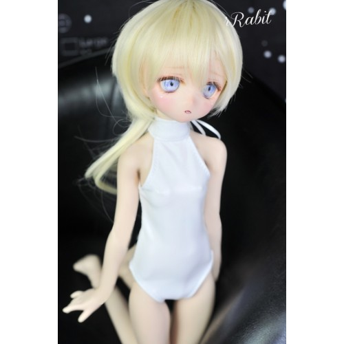 1/4 /MDD Leather swimsuit DF004 009 (New White leather)
