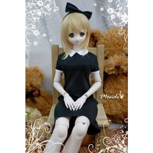 [Monde] 1/3 Girl - Noble  school dress OND130858 (Black)