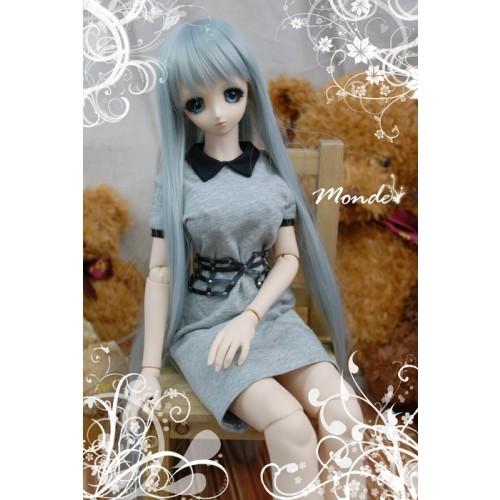 [Monde] 1/3 Girl - Noble  school dress OND130858 (Gray)