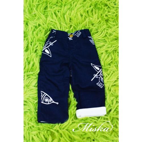 Miska Homme - 1/3 Capri Pants - HEM005 003