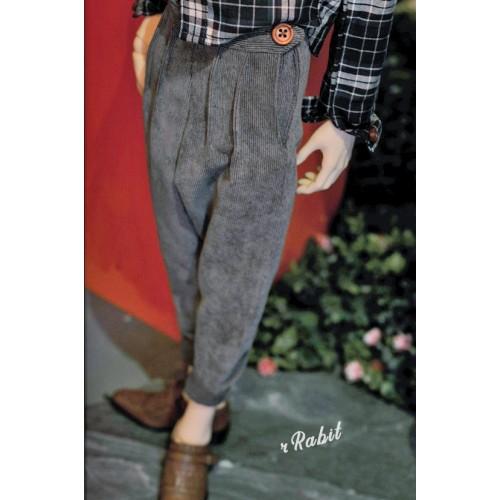 1/4 [Corduroy pants] - HL043 1904