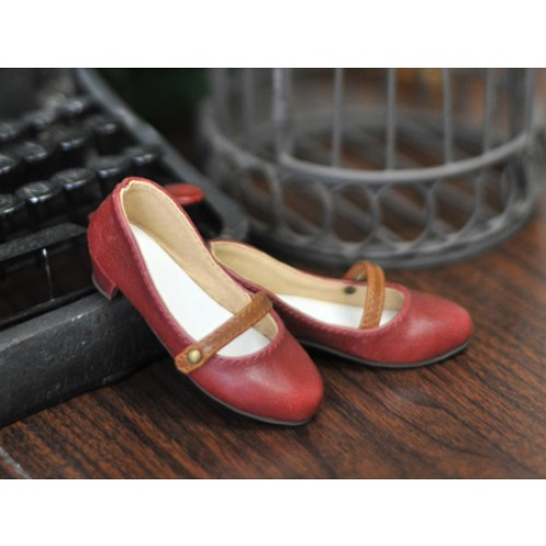 1/4 Sugar Dolly Shoes LG008 - Red
