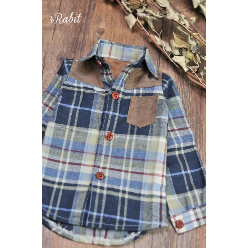 1/3/SD17[Patchwork shirt] MG001 1903