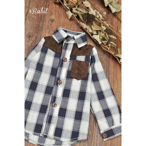 1/3/SD17[Patchwork shirt] MG001 1906