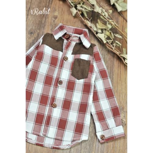 1/3/SD17[Patchwork shirt] MG001 1907