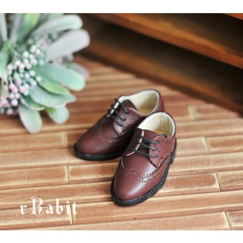 1/4 MSD/MDD Boy Classic Oxford Shoes - RSH005 Redwood