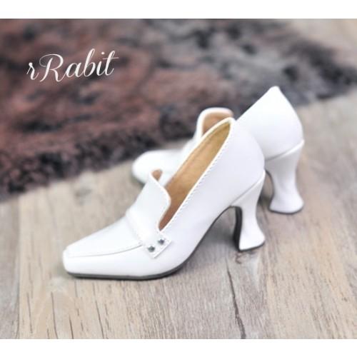 1/4 MSD MDD Angel Philia Fairyland Highheel Loafers - RSH006 White