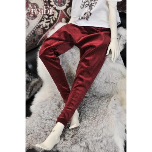 1/3 Gate One - Harem pants  SH035 1804 (Velvet Red)