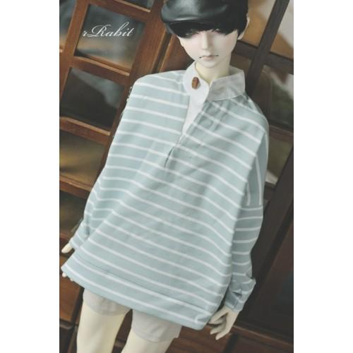1/3 [Stand collar T-shirt] SH037 1906