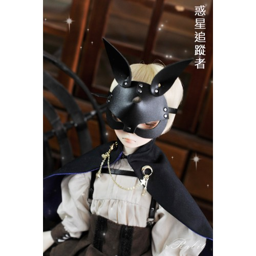 1/4 rRabit Mask - Black