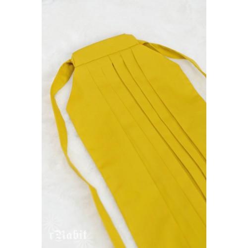 1/4 Hakama 行燈袴 (Japanese Bottom Dress) TS001 1708 (Lemon)