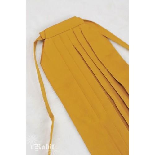 1/3 Hakama 行燈袴 (Japanese Bottom Dress) TS001 1709 (Mustard)